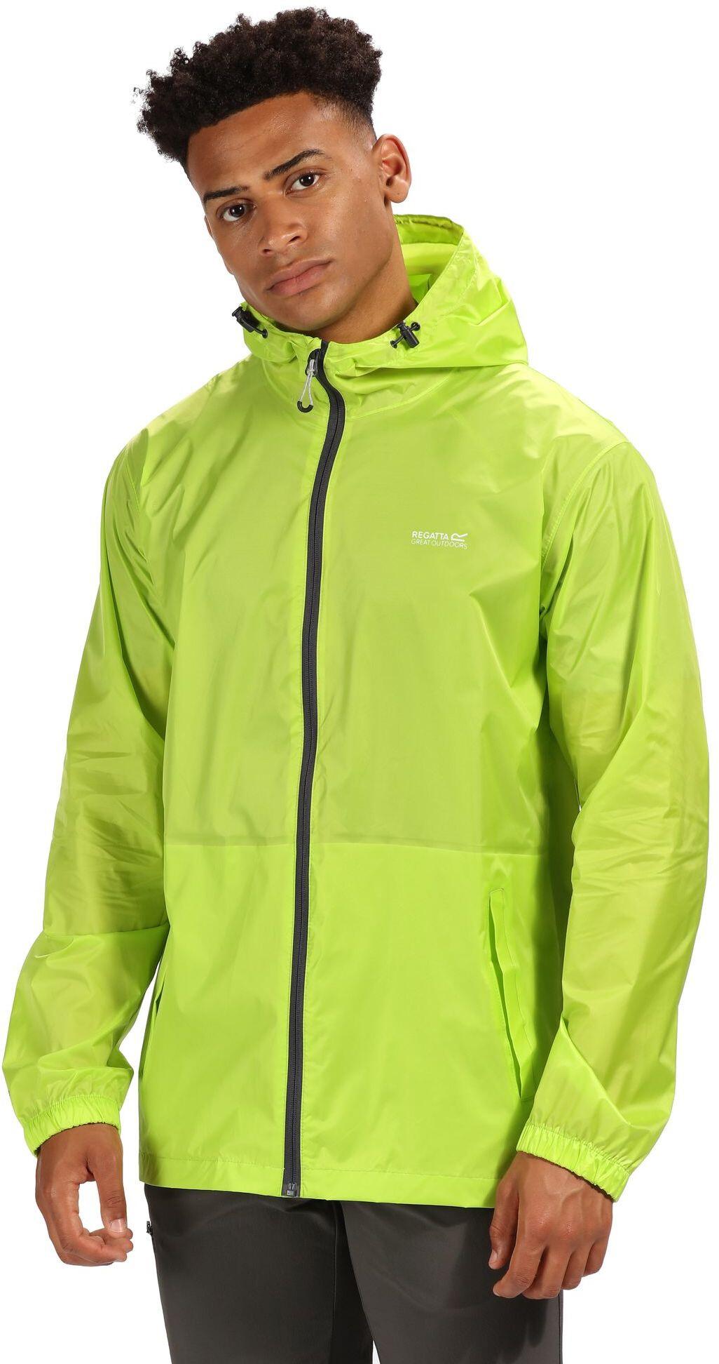 1a94e8a0 Regatta Pack It III Jakke Herrer, lime punch | Find outdoortøj, sko ...